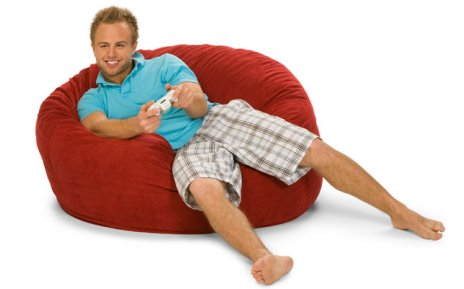 Prime 4 Foot Relaxsack Round Foam Filled Bean Bag Cover Only Cjindustries Chair Design For Home Cjindustriesco