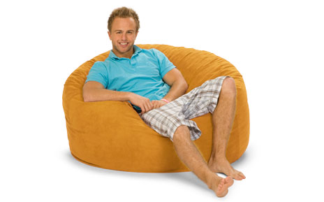 Tremendous 4 Foot Relaxsack Round Foam Filled Bean Bag Cover Only Cjindustries Chair Design For Home Cjindustriesco