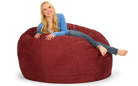Magnificent 5 Foot Relaxsack Round Foam Filled Bean Bag Cover Only Beatyapartments Chair Design Images Beatyapartmentscom