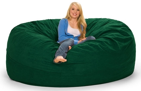 Excellent 7 Foot Relaxsack Round Foam Filled Bean Bag Cover Only Beatyapartments Chair Design Images Beatyapartmentscom