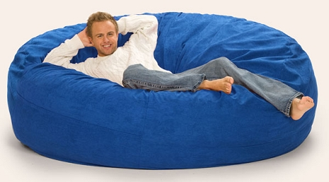Stupendous 7 Foot Relaxsack Round Foam Filled Bean Bag Cover Only Beatyapartments Chair Design Images Beatyapartmentscom