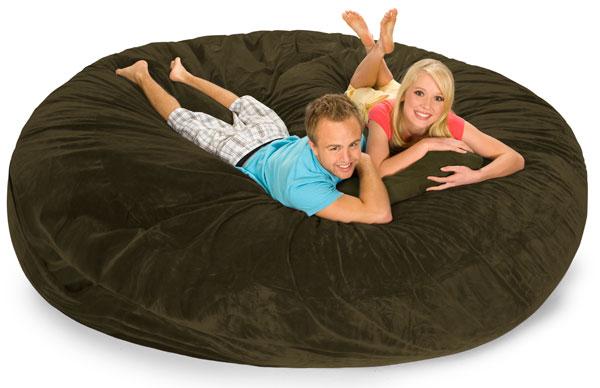 Stupendous 8 Foot Relaxsack Round Foam Filled Bean Bag Machost Co Dining Chair Design Ideas Machostcouk